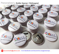 Personalized Bottle Opener - Refmagnet, Fridge Magnets, Souvenirs & Corporate Giveaways, Promotional Items, Event IDs, Gift Item