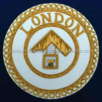 Masonic regalia Hand Embroidered Bullion Wire Masonic Badges