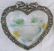 EPNS and Metal Handicrafts White Metal heart shape