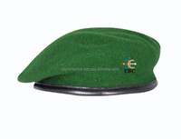100% Wool military beret cap for man and woman