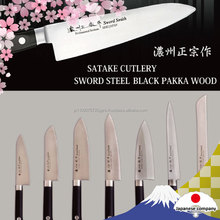 Various types of high quality Japanese chef knife with anti-bacterial properties
