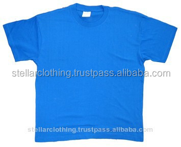 120 grams Promotional Stock Cheap Cotton Tshirts
