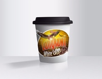 White Coffee Single Cup