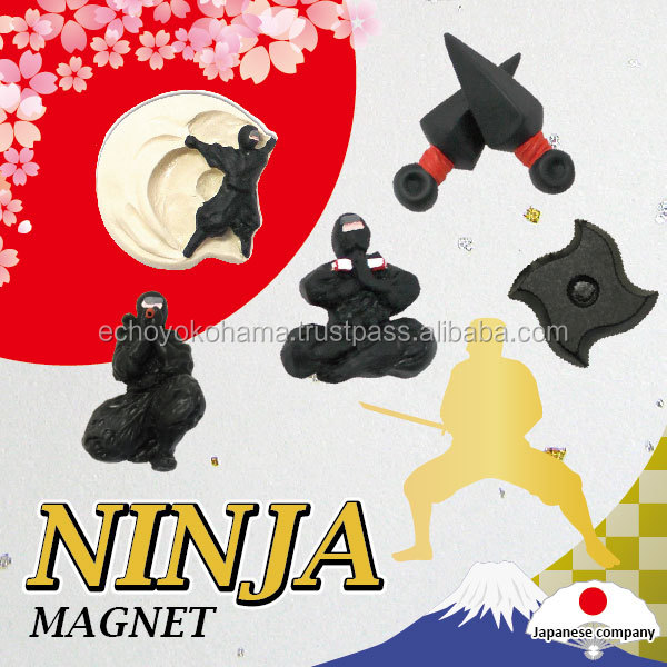 If there is even this rubber coated magnet for a souvenir become a Ninja