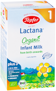 Topfer Organic Infant Milk