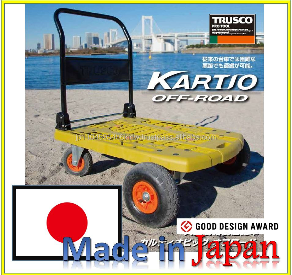 Off road use and Best selling hand pallet truck rubber wheel at reasonable prices made in Japan