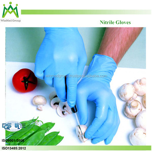 2016 new product Cheap high quality disposable non sterial clinical examination nitrile gloves thin working gloves