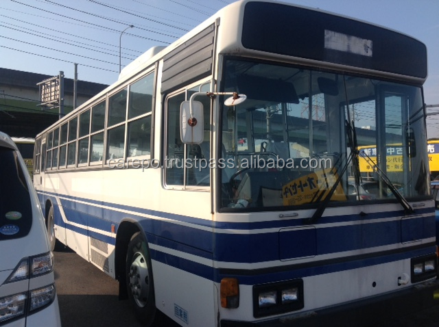 GOOD CONDITION USED CITY DIESEL BUS HINO M10U KC-HT2MPCA RIGHT HAND DRIVE
