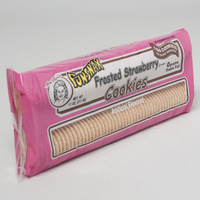 COOKIES FROSTED STRAWBERRY 12 OZ TRAYS 100CT MRS. PURES #118998