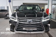 LEXUS LX 570 2016 luxury21 5.7 PETROL 367HP black/black Leather