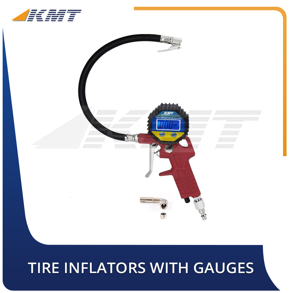 Tire Inflators With Gauge