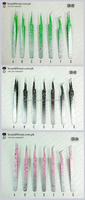 Super soft! top quality 100% handmade eyelash extension tweezers Kit, Professional Eyelash Extension tweezers set