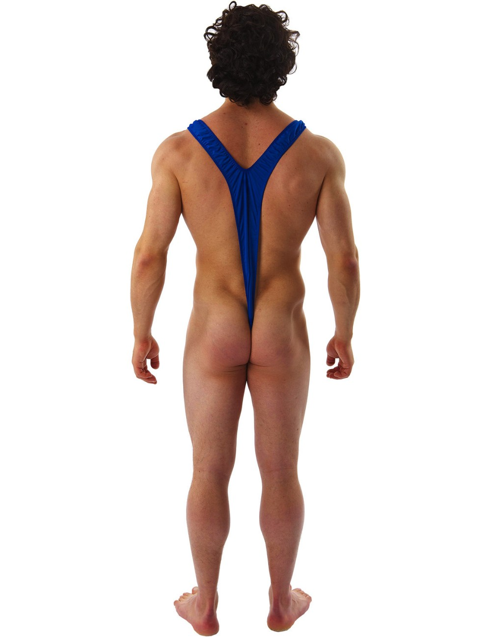 Borat Mankini Thong Swimsuit (Blue)