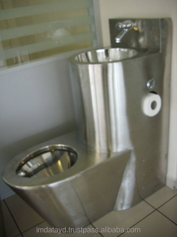 Stainless Steel Prison Toilet Aisi 304 Quality Combination