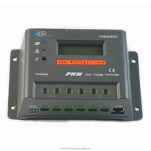EPsolar VS2048BN PWM 20A Solar Charge Controller 12/24/36/48v Auto Work LCD Display for Off- Grid Battery Charging