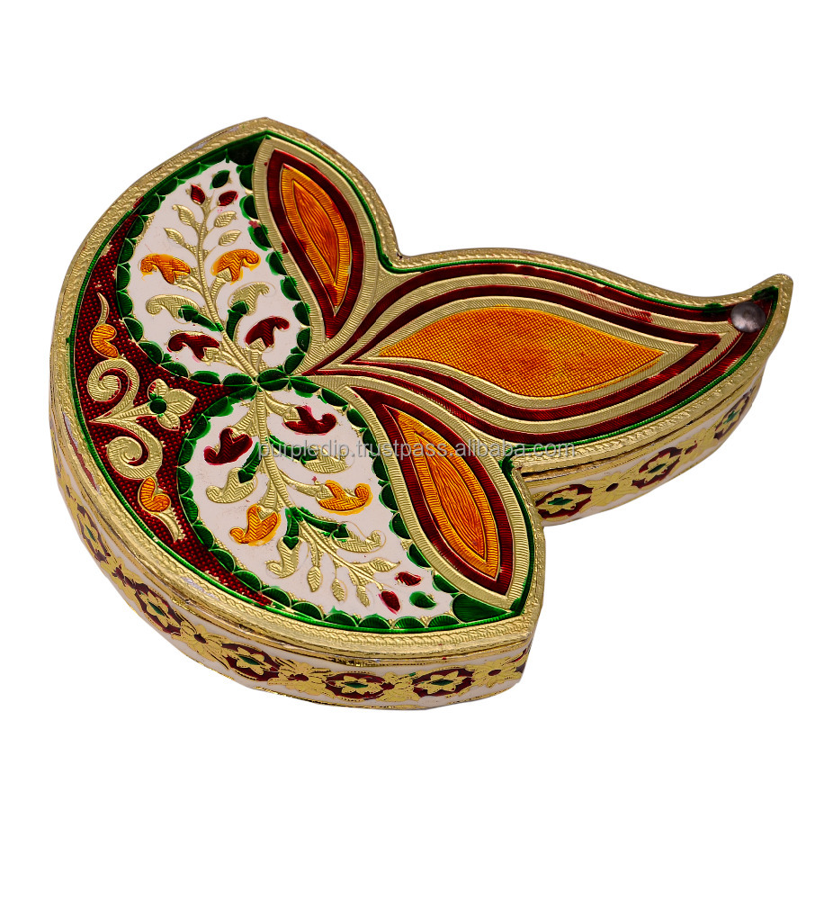 Meenakari Box for Dry Fruits, Supari, Mouth Fresheners, etc