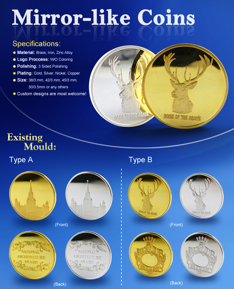 Stamping Gold Coin/ Custom Antiqu Coin/ Good Old Coin Price