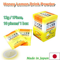 Lemon and ginger instant powder drink/Only mixing with 200cc hot water