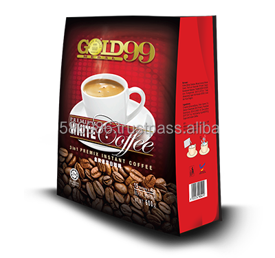 GOLD 99 Premium Instant White Coffee