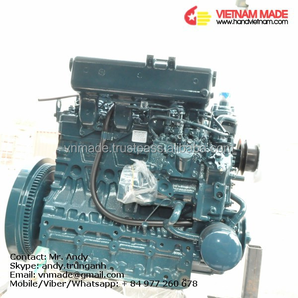 KUBOTA diesel engine driven water pump price V2403-M-DI-TE-CK3T