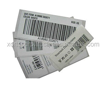 Self-adhesive Barcode Label/Sticker with thermal printed