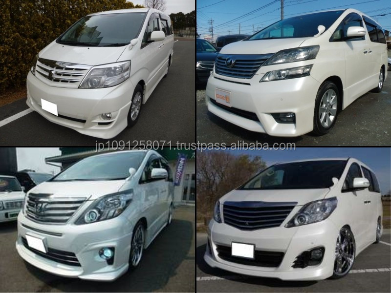 High quality toyota alphard used car for irrefrangible accept orders from one car
