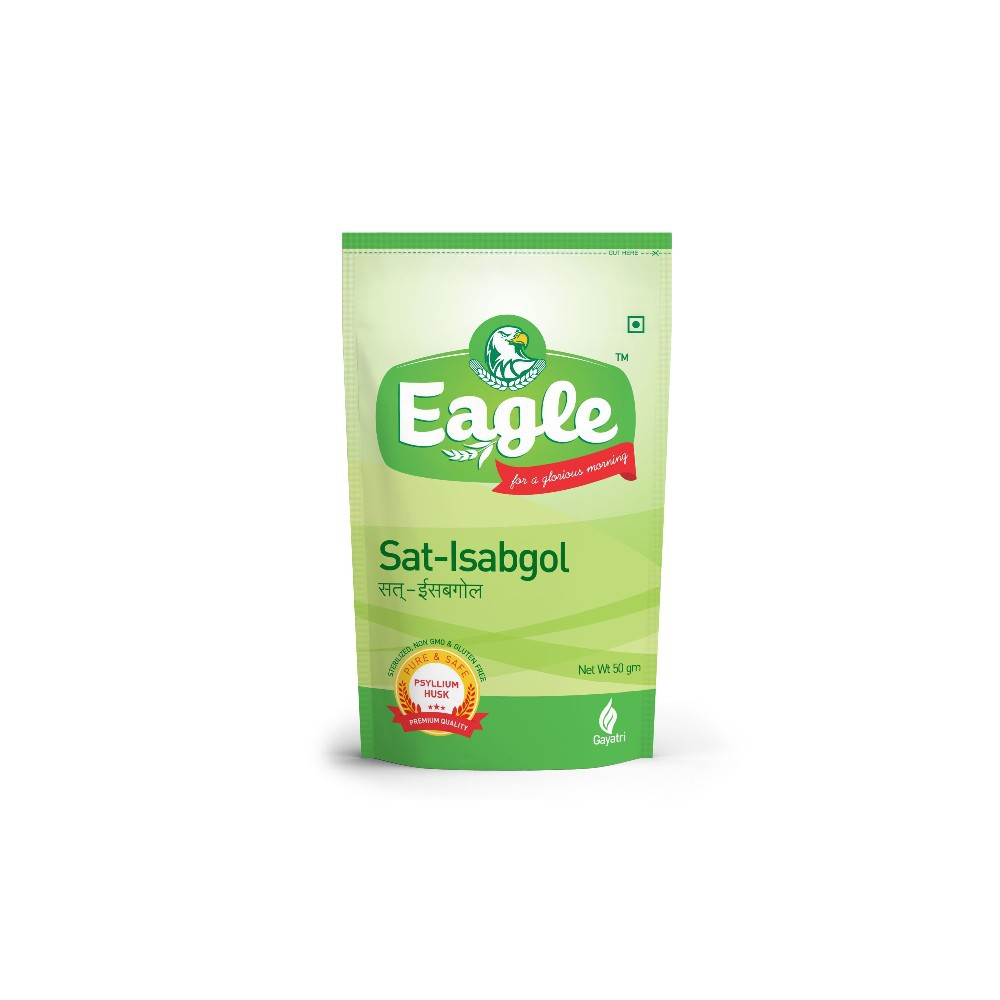EAGLE Sat Isabgol 50 gm Standy Zip pouch
