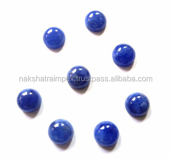AAA Quality Natural Sodalite 12mm Round Cabs Loose Gemstone
