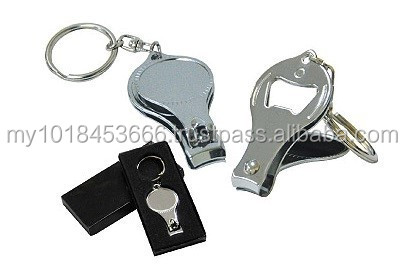 KEY1402 Key Holder with nail clipper and bottle opener