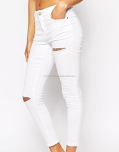 Women's fashion style push-up stretch skinny jeans