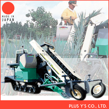 Equipped with horizontal system White onion Harvester Made in Japan