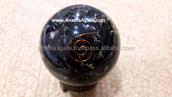 Wholesale Orgone Black Tourmaline : Orgonite Ball For Sell