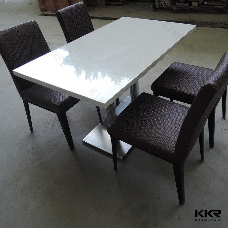 Cheap restaurant tables and chairs prices marble top