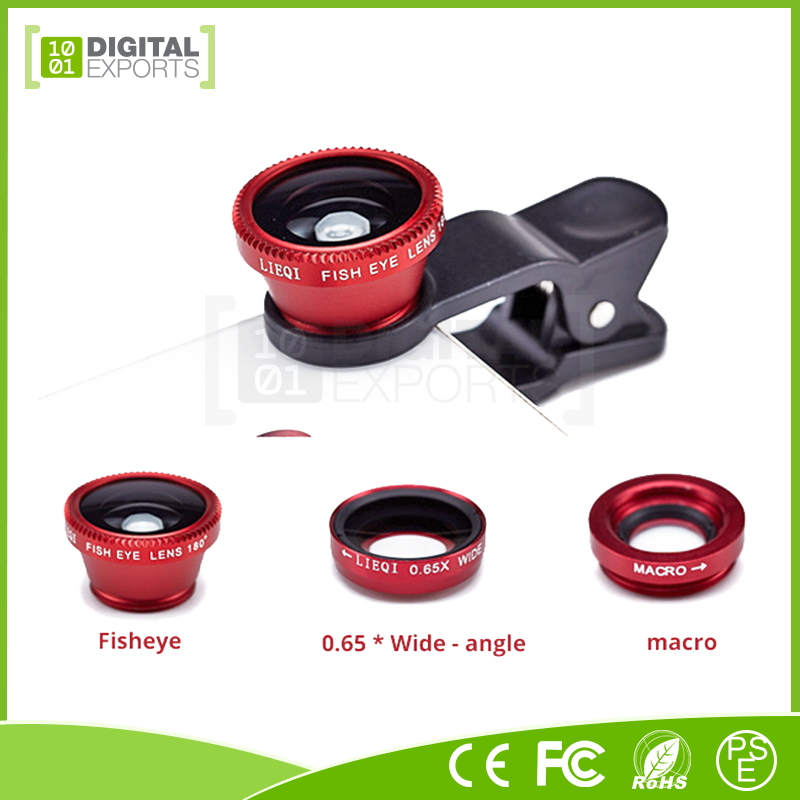 Brand new online shopping phone lens, 2in1 wide angle phone lens, no distrotion wide lens