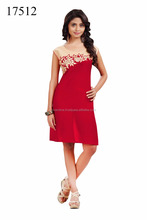 Red Color Cotton Designer Fancy Kurti