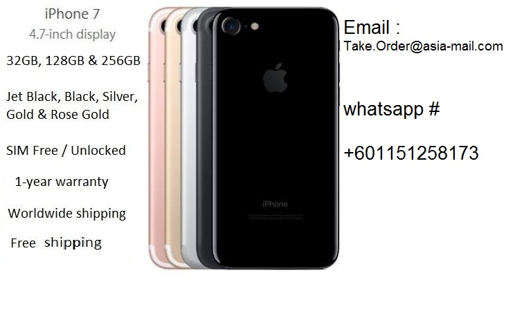 SALES NEW DELIVERY FOR APPLE IPHONE 7 6 6S 6S+ PLUS 16GB 64GB 128GB BUY 5 GET 2 FREE /whatsApp : +601151258173