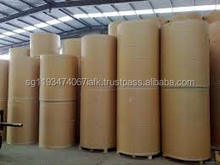 high quality brown kraft liner carton paper board for box or bag