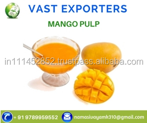 Fresh Squeezed Mango Pulp