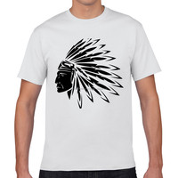 2016 New Style Short O Neck 3D Printed Devil Shape Design T Shirt Men Brand Cotton Mens T-shirts Fashion Tops Men's Clothing pr