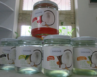 Extra Virgin Coconut Oil with edible flavors from Mekong herbs