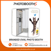 Wacky and Quirky for Exhibition and Brand Exposure Branded Oval Photo Booth