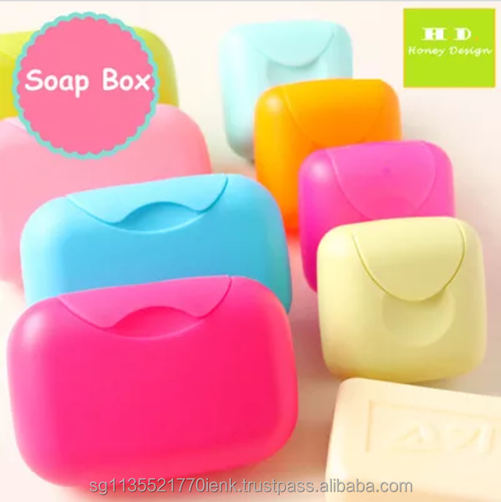 Mytrip Travel Soap Box, anti-slip, multiple designs and sizes, travel accessories