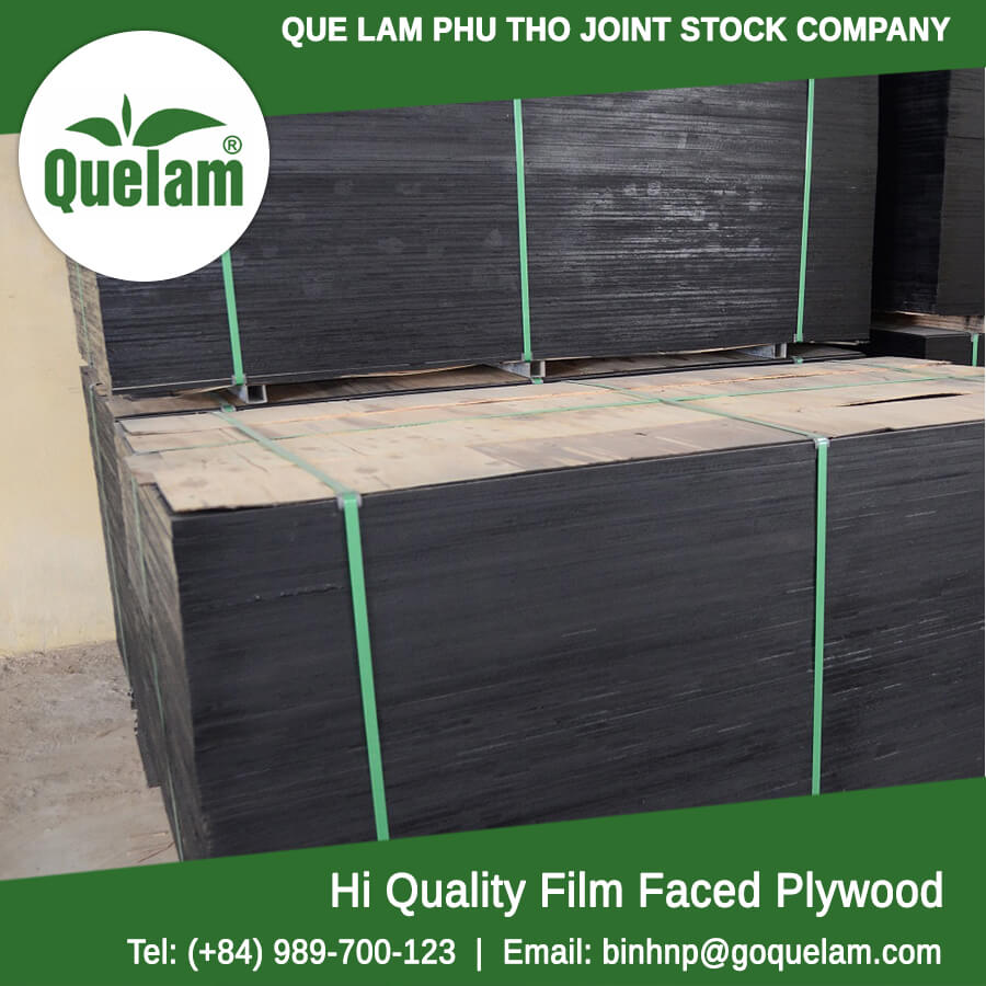 Construction film faced plywood 12 15 18 Que Lam Phu Tho