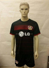 Adult football kit with high quality coolmax polyester display with dummy