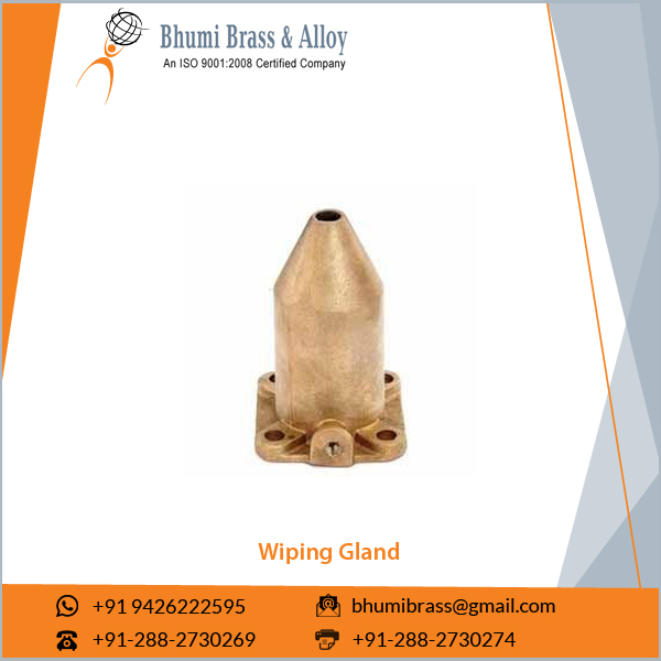 Brass Transformer Glands, Wiping Cable Gland in Bulk