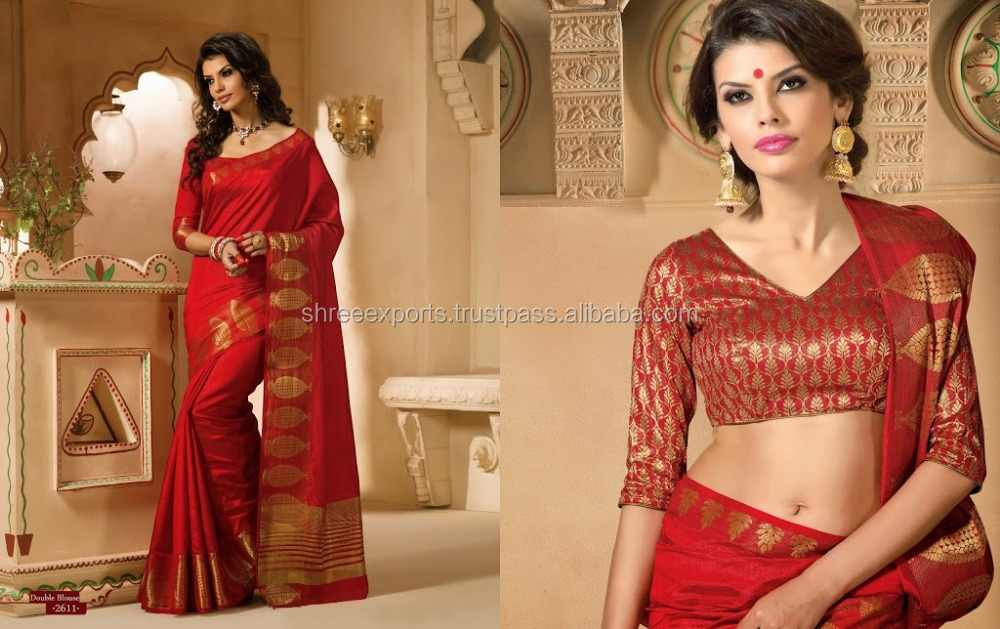 Kanchipuram Silk Red Saree