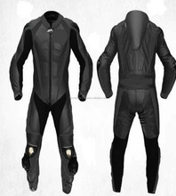 BLACK 2PC MOTORBIKE 100% COWHIDE LEATHER SUIT RACING BIKER SUIT CE ALL SIZES FC-11375