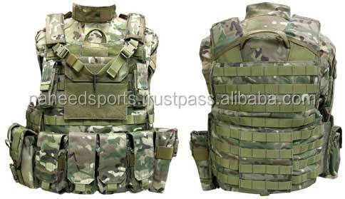 Heavy Duty Molle Vest Combat Tactical Gear Vest Hunting Airsoft Paintball Protective Vest