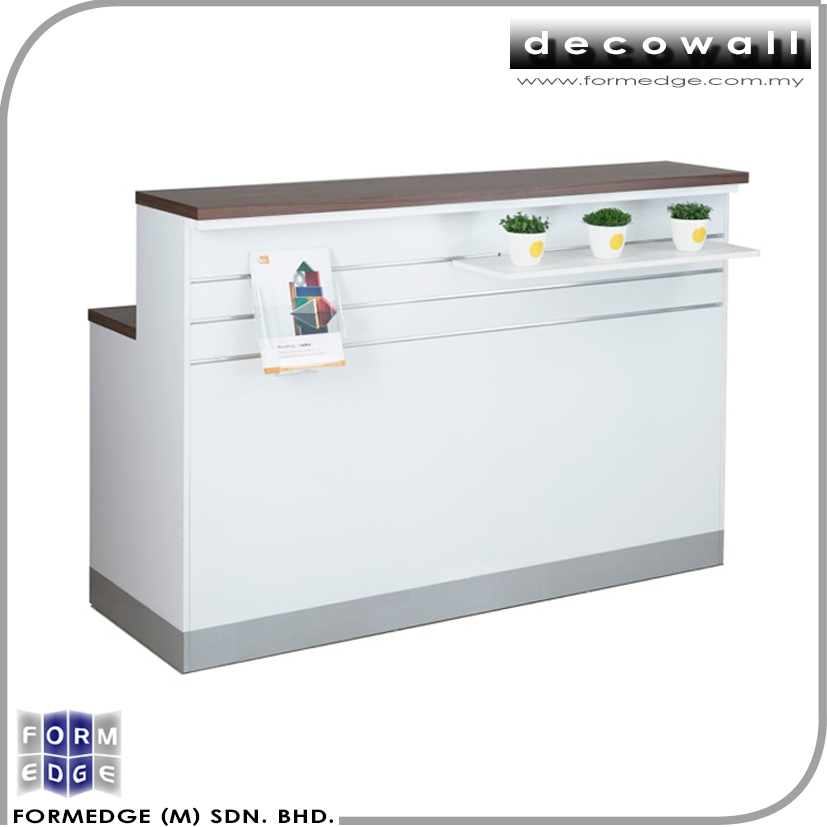 Quality Slatwall Modern Retail Small Cashier Counter