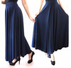 Long flare maxi skirts pants culottes fashion 2016 latest design for ladies women